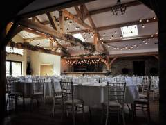 Festoon Lighting Canopy at Doxford Barns Northumberland - Photo Credit: Reed Ingram Weir