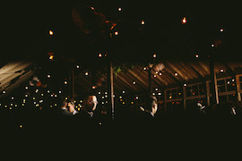 Festoon can be dimmed down for the evening entertainment - Photo Credit: Nigel John