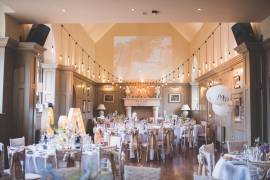 Festoon with Pendants at Ellingham Hall - Photo Credit: SDS Photography